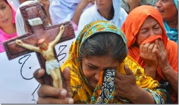 Protesting Islamic Supremacism in Pakistan