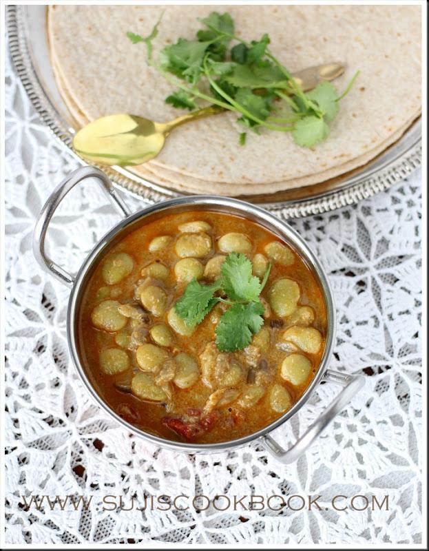 Lima beans kuruma