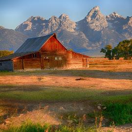 GRANDTETONS II-3.jpg by Jim Kuhn - Landscapes Mountains & Hills