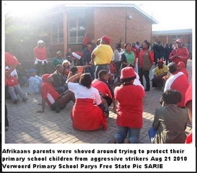 heidelbergANCattacksAfrikanersSchoolsAug212010VerwoerdPrimarySchoolParysSARIEpic
