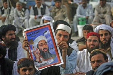 Hundreds of Pakistanis Rally on bin Laden Death Anniversary