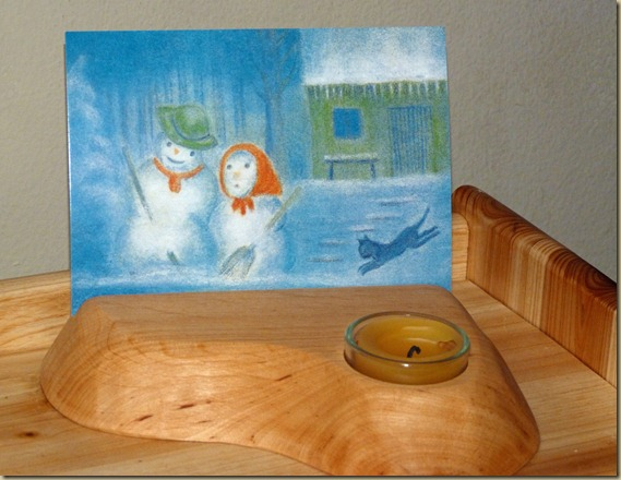 Winter Nature Table - 3