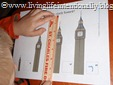 Practice using a ruler with Big Ben
