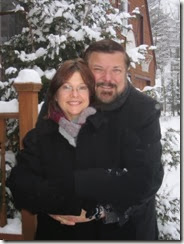 Jim and Kay-snow