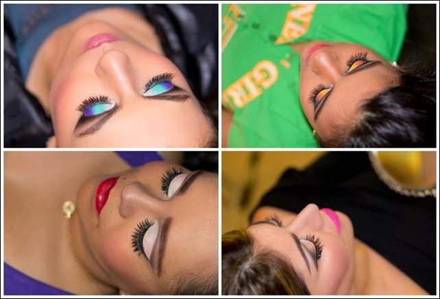 como tirar boas fotos da maquiagem