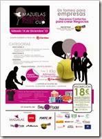 Cartel La Mazuelas Business Pádel Cup será la primera edición de esta innovadora forma de fomentar las relaciones interempresariales