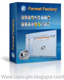 Format Factory 2.90 Final برنامج فورمات فاكتوري لتحويل صيغ الفيديو والصوت والصور