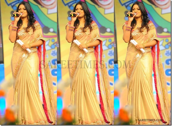 Udaya_Bhanu_Gold_Saree