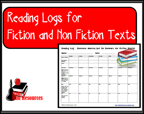 Resources to keep students reading books they enjoy while keeping them accountable for their learning.  Resources from Raki's Rad Resources - readinglogs