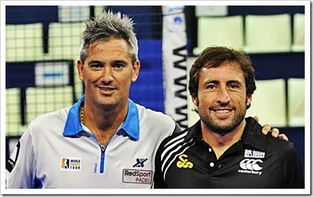Maxi Gabriel y Miguel Lamperti cambian de entrenador en la recta final del WPT 2013.