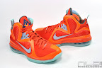lebron9 allstar galaxy 09 web white Nike LeBron 9 All Star aka Galaxy Unreleased Sample