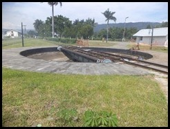 Indonesia, Ambarawa Railway Museum, Turntable, 11 January 2011 (1a)