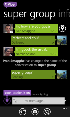 Viber for Windows Phone 2