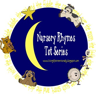 Nursery Rhymes worksheets & activities #preschool #toddler #rhymes