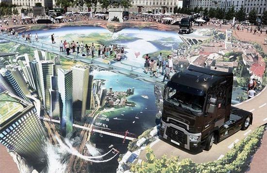 Maior mural em 3D 03