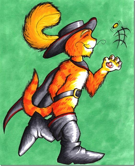 El Gato con Botas,El gato maestro,Cagliuso, Charles Perrault,Master Cat, The Booted Cat,Le Maître Chat, ou Le Chat Botté (39)