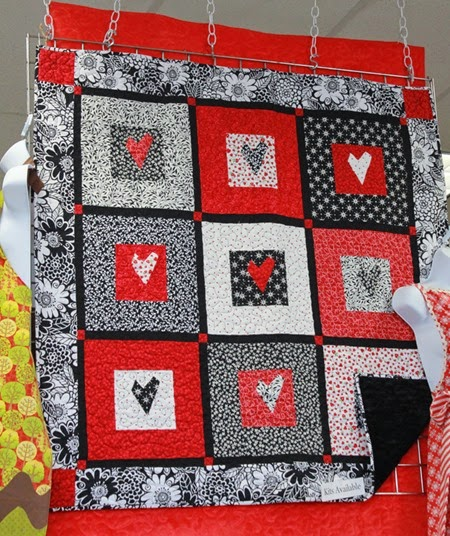 Sweet Valentine quilt and kit