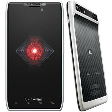 Motorola Razr blanc