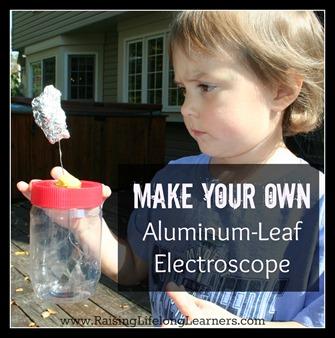 Make Your Own Aluminum Leaf Electroscope