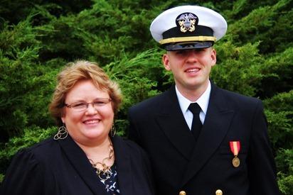 Mark Navy OCS Grad 16