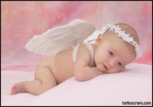 bebe anjo, se o quarto for de anjo uma foto dessa grande