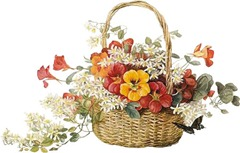 BasketFlowers~V