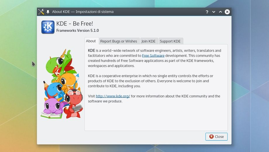 KDE Frameworks 5.1