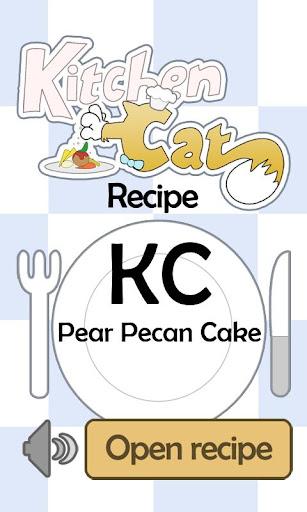【免費生活App】KC Pear Pecan Cake-APP點子