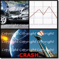 CRASH- 4 Pics 1 Word Answers 3 Letters