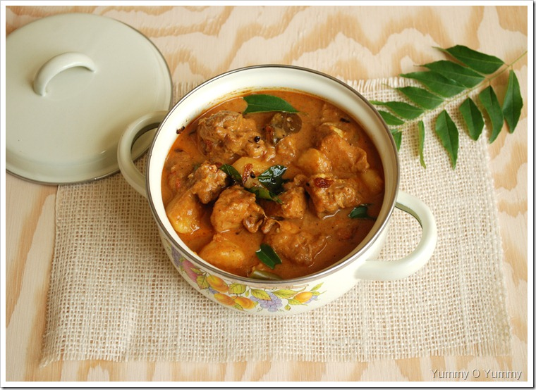 Nadan Chicken Curry - Trissur Style