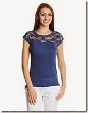 Amazon : Buy Ladies Top and Tees at Flat 50% off
