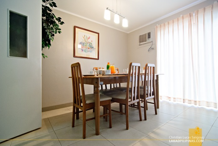 Sunny Dining Area at Subic Homes in Zambales