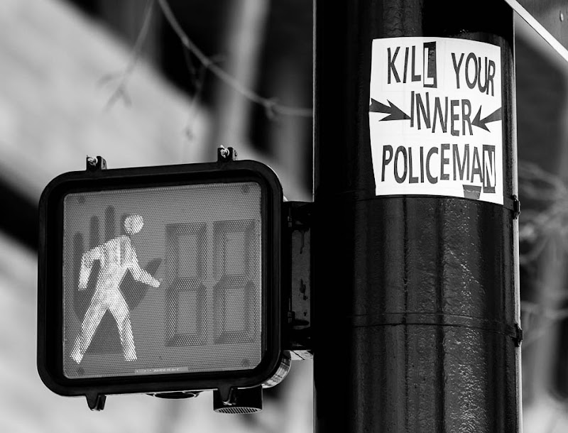 kill your inner policeman