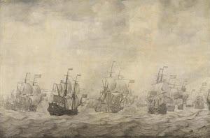 RIJKS: Willem van de Velde (I): painting 1668