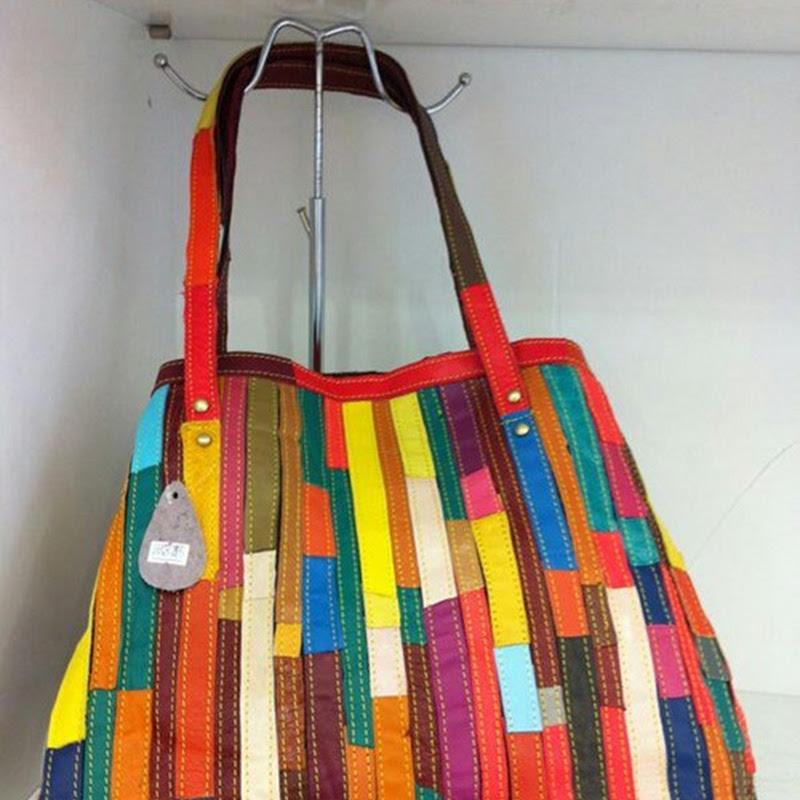 กระเป๋าหนังแท้ Le-Sia F044