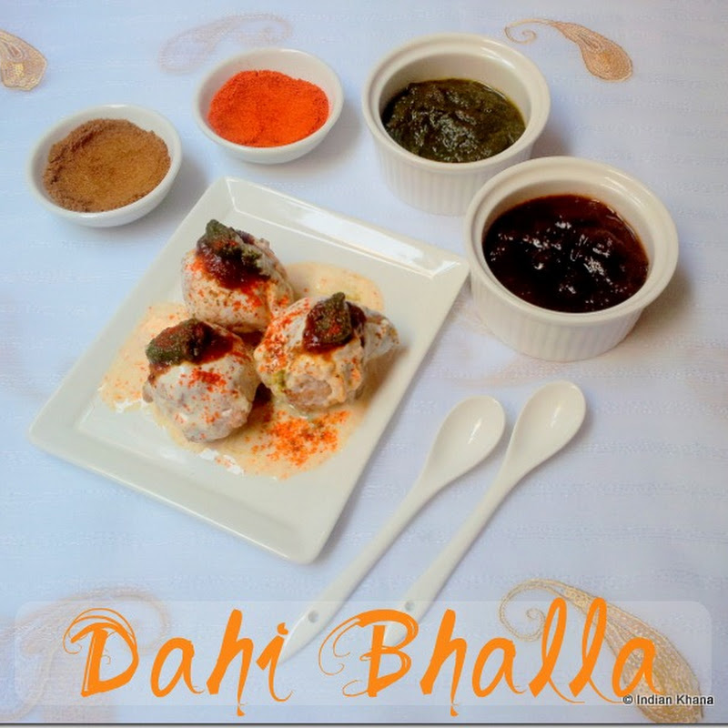 Dahi Bhalla | Dahi Bhalle Recipe | North Indian Street Food