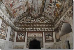orchha 027 Raj Mahal- peintures murales