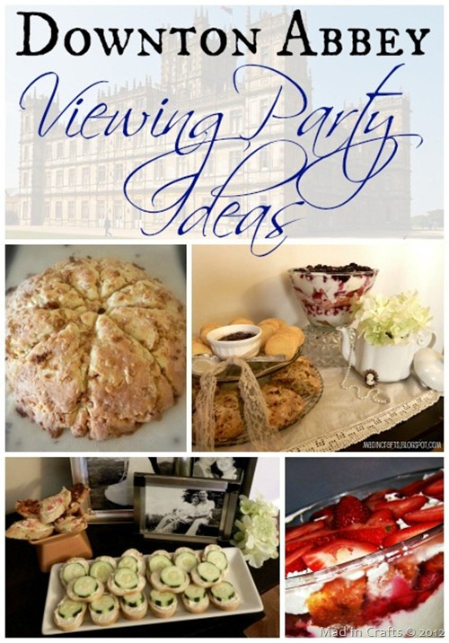Dowton Abbey Premiere Party Ideas
