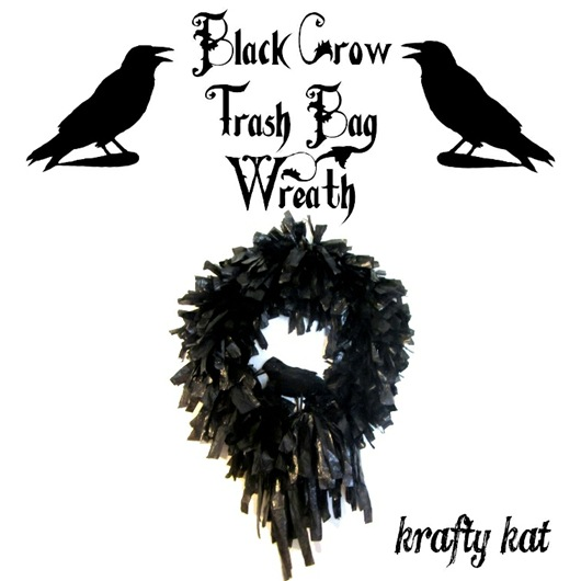 Black Crow Wreath