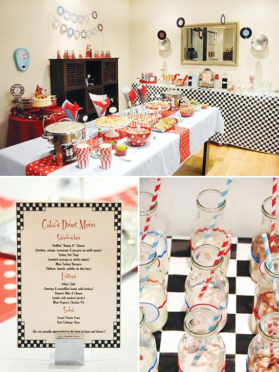 retro-diner-birthday-party-buffet