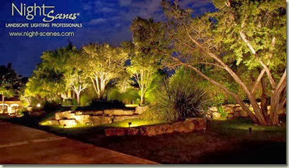 low voltage vs high voltage landscape lighting nightscenes