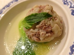 Boiled Pork Meat Balls