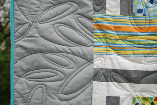 Christines Quilt Detail Quilting