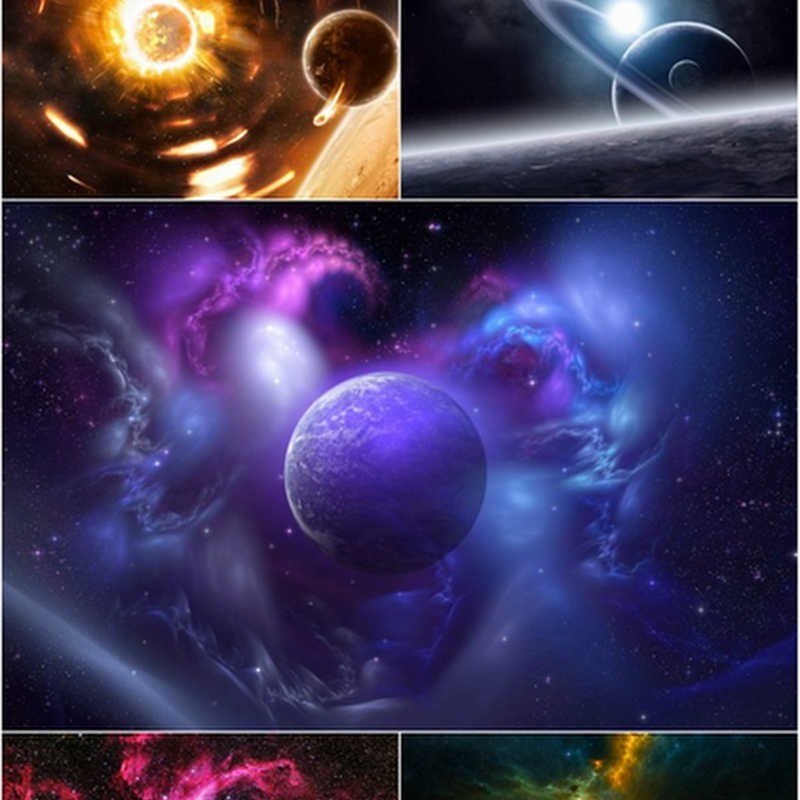 30 Space Planets and Universe HD Wallpapers { SET- 30 }