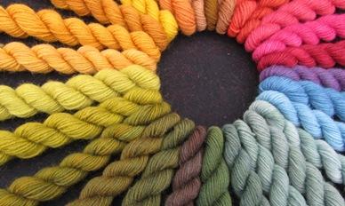 Pflanzengefärbter Regenbogen2