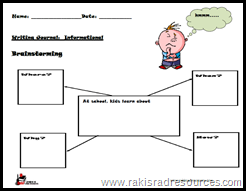 Free Writing Prompt for Primary Students from Raki's Rad Resources