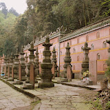 Emeishan - hidden cimetery