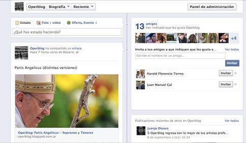 Invitar a tus amigos para que visiten tu página de Facebook