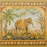 Gobelin 7974, Elephant, 110x150cm