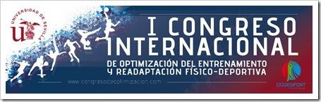 I Congreso Internacional Optimización del Entrenamiento y Readaptación Físico-Deportiva en Sevilla, 3,4 y 5 abril 2014.